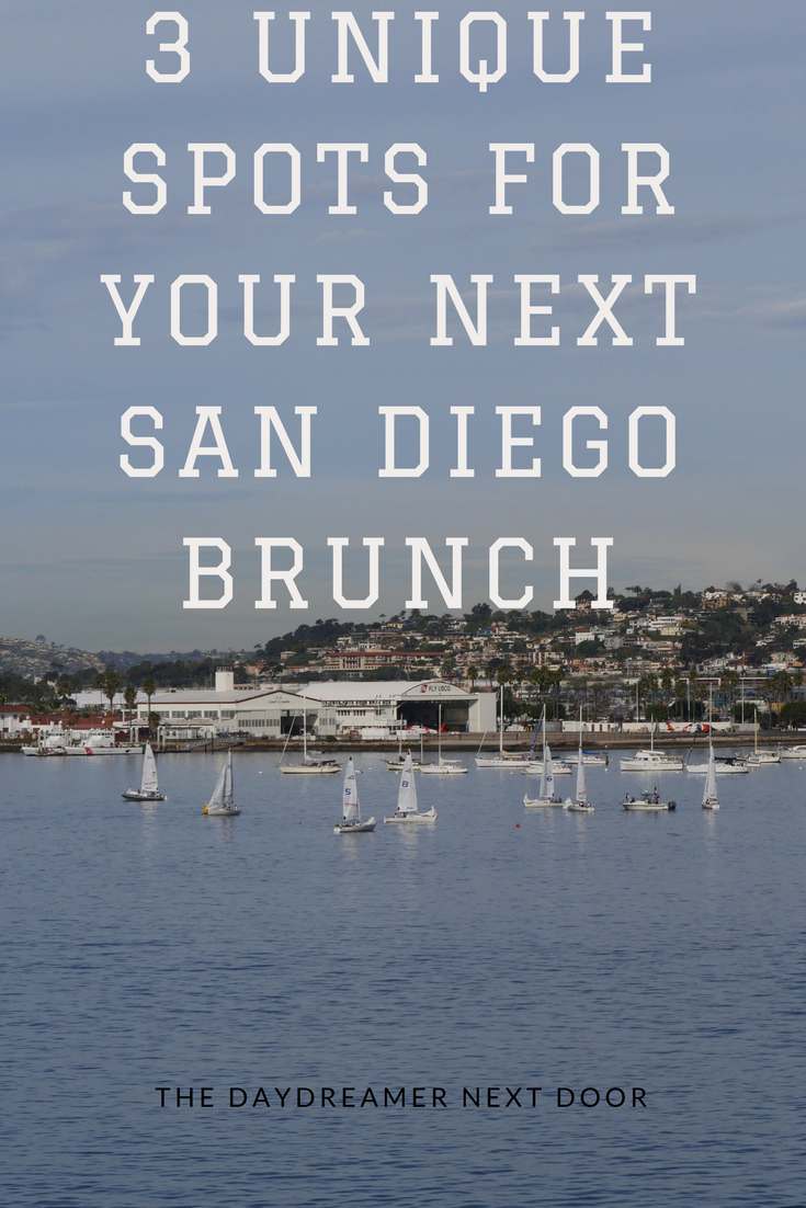 3 Unique Spots for Your Next San Diego Brunch